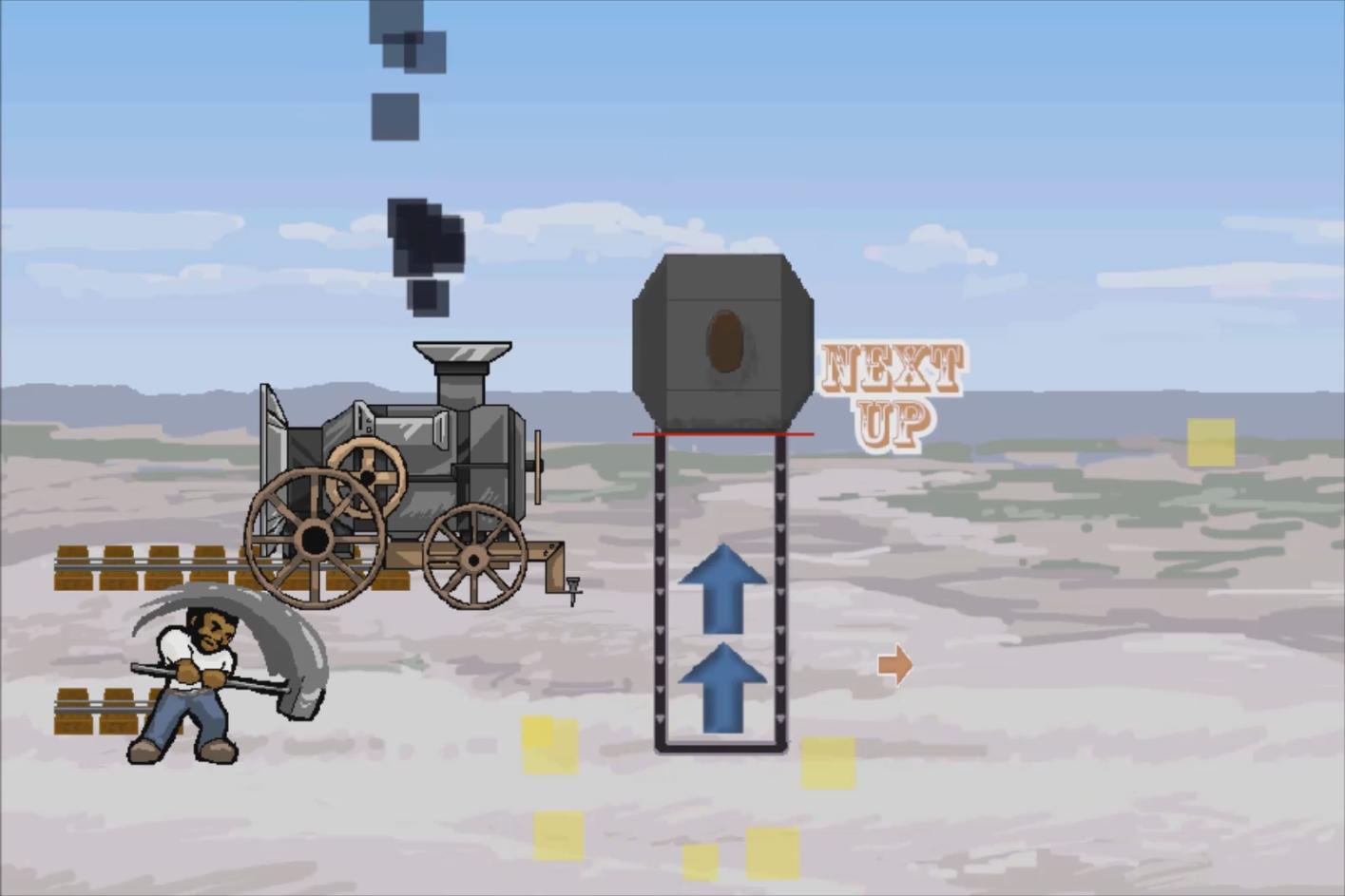 John Henry vs the Machine screenshot