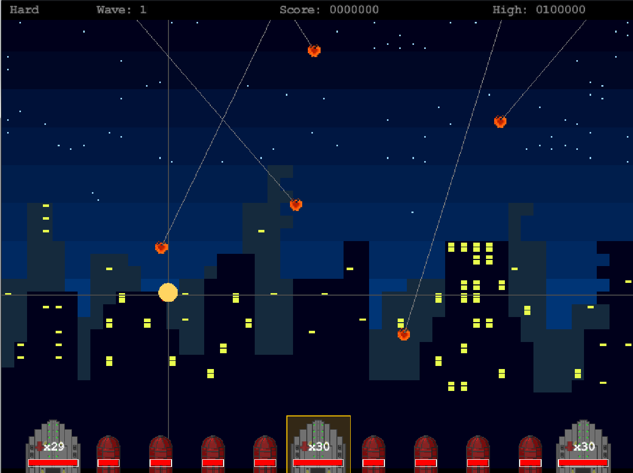 Missile Command 0213 screenshot